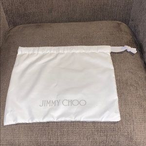 Jimmy Choo collectible dust bag